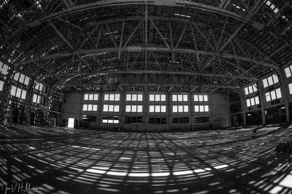 """Abandoned Hangar""-Tonopah, NV"