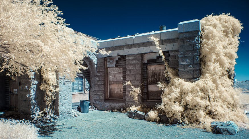 """Abandoned Home""-Goldefield, NV"