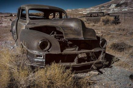 """Abandoned Car""-Goldfield, NV"